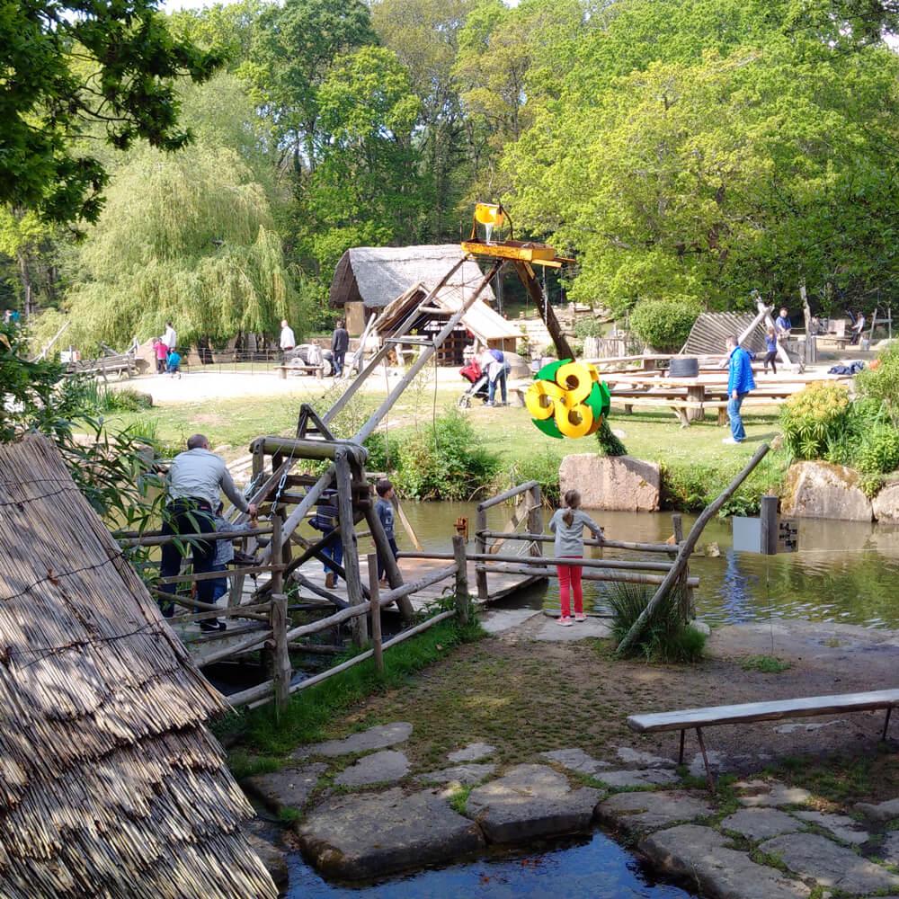 jeux village gaulois
