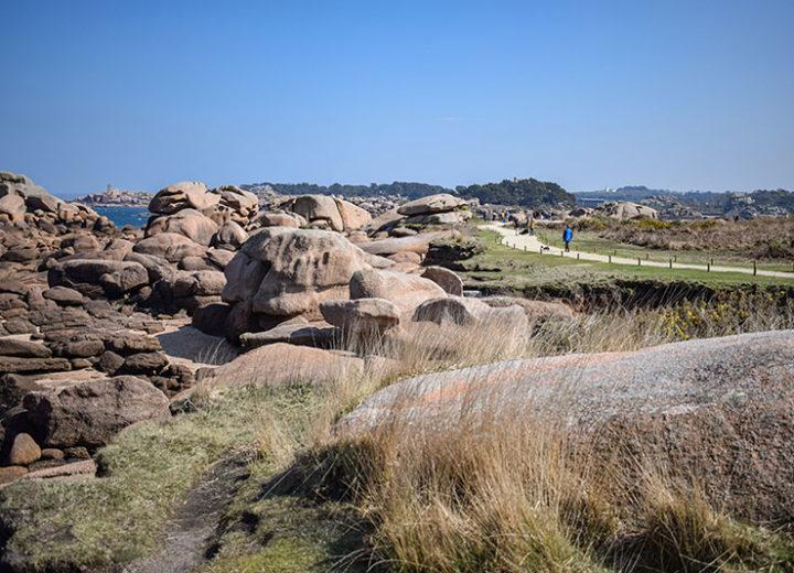 Presqu'île Renote à Trégastel