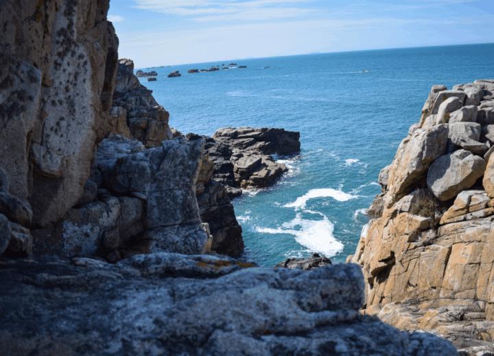 Site du gouffre de Plougrescant